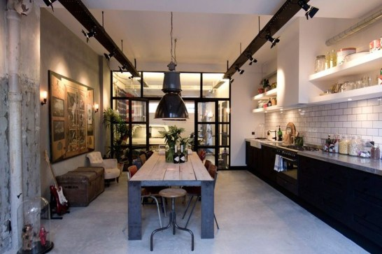 Fabulous Industrial Loft Make Over Ideas For Trendy Home 06