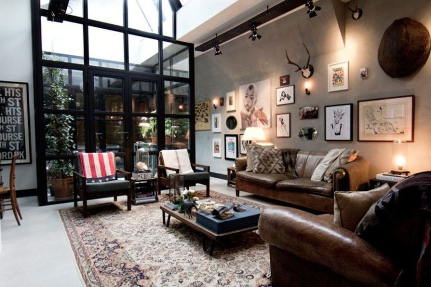Fabulous Industrial Loft Make Over Ideas For Trendy Home 14