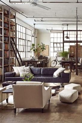Fabulous Industrial Loft Make Over Ideas For Trendy Home 20