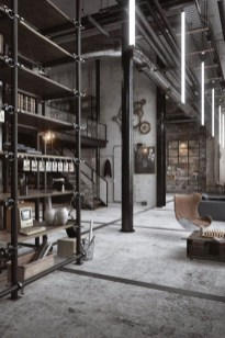 Fabulous Industrial Loft Make Over Ideas For Trendy Home 37