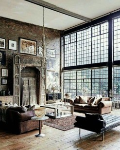 Fabulous Industrial Loft Make Over Ideas For Trendy Home 38
