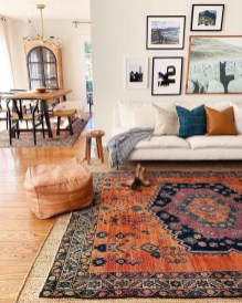 Gorgeous Bohemian Farmhouse Decorating Ideas For Your Living Room 19