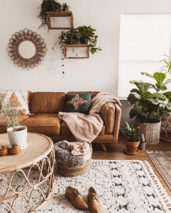 Gorgeous Bohemian Farmhouse Decorating Ideas For Your Living Room 28