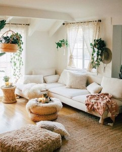 Gorgeous Bohemian Farmhouse Decorating Ideas For Your Living Room 29