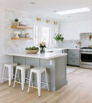 Gorgeous Small Kitchen Design Ideas For Your Small Home 25