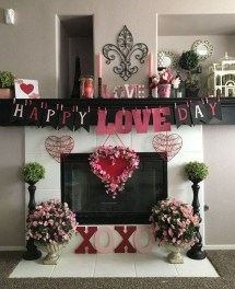 Lovely Valentines Day Home Decor To Win Over The Hearts 12
