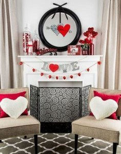 Lovely Valentines Day Home Decor To Win Over The Hearts 37