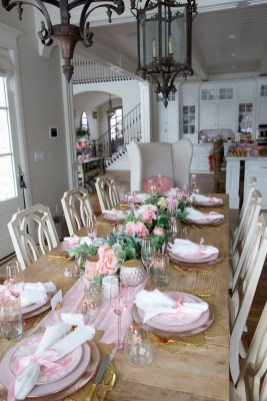 Magnificent Dining Room Decorating Ideas For Valentine's Day 29