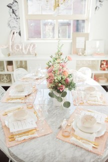 Most Inspiring Valentine's Day Simple Table Decoration Ideas 16