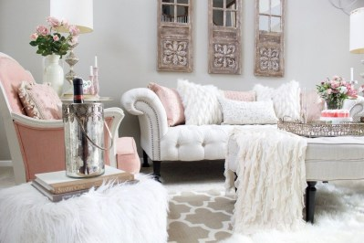 Romantic Valentine Decoration Ideas For Your Living Room 05