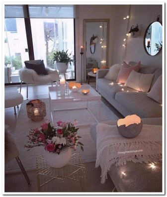 Romantic Valentine Decoration Ideas For Your Living Room 23