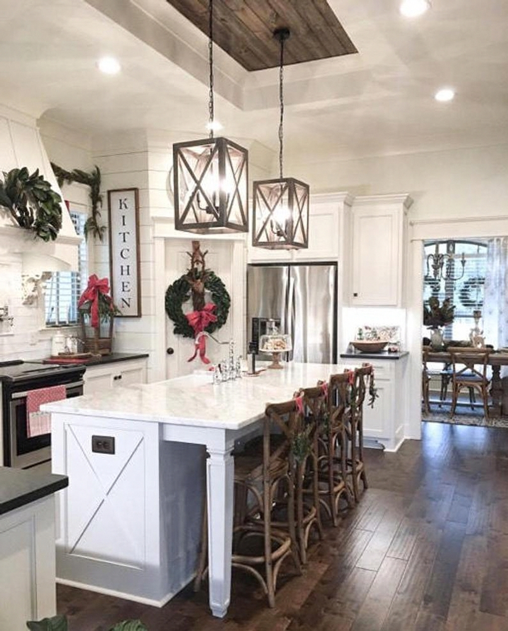 20+ Rustic Farmhouse Kitchen Ideas To Get Traditional ... on Rustic:yucvisfte_S= Farmhouse Kitchen Ideas  id=48068