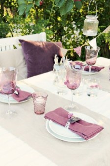 Unordinary Valentine Outdoor Decorations Table Settings For Couple 04