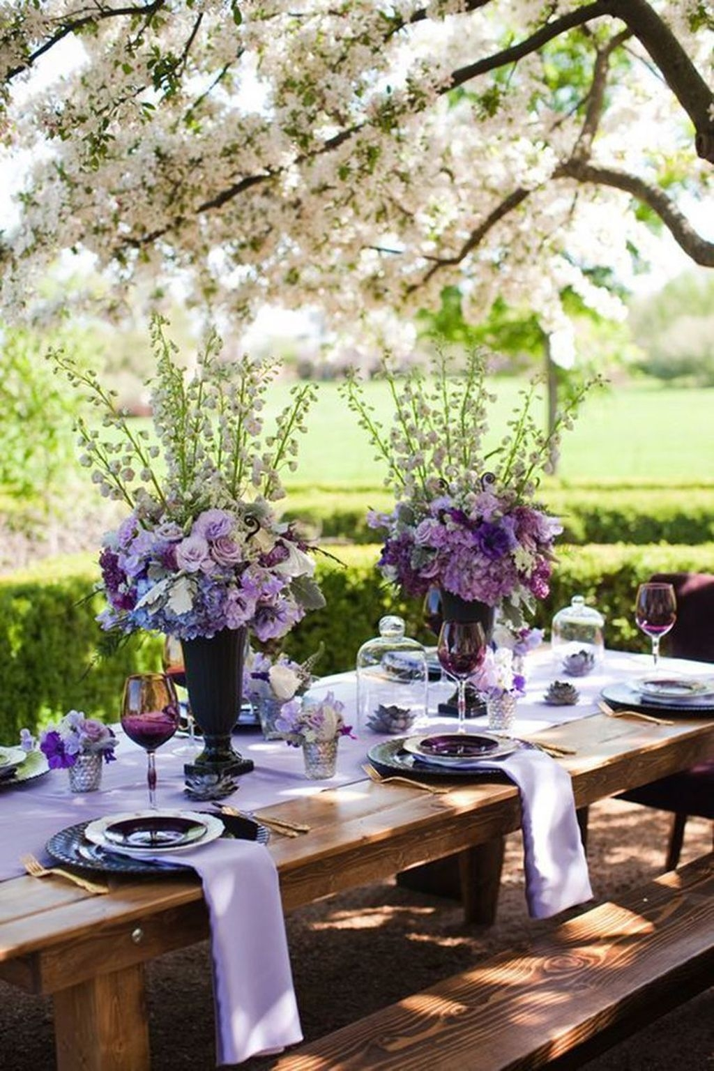 Unordinary Valentine Outdoor Decorations Table Settings For Couple 11