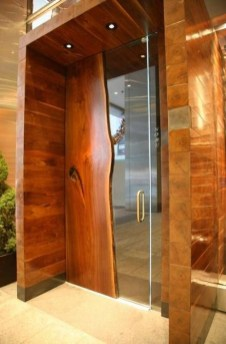 Artistic Wooden Door Design Ideas To Try Right Now 04