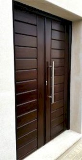 Artistic Wooden Door Design Ideas To Try Right Now 13
