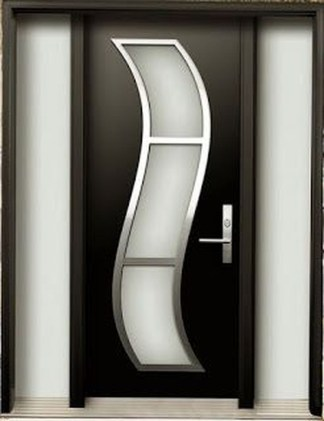 Artistic Wooden Door Design Ideas To Try Right Now 15