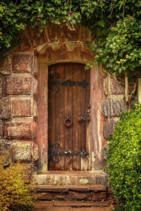Artistic Wooden Door Design Ideas To Try Right Now 17