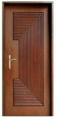Artistic Wooden Door Design Ideas To Try Right Now 40