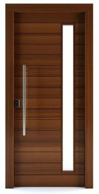 Artistic Wooden Door Design Ideas To Try Right Now 41