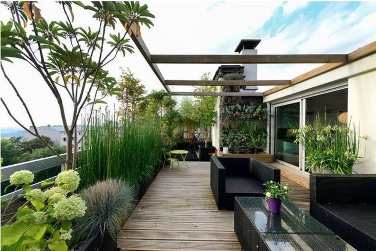 Attractive Terrace Design Ideas For Home On A Budget To Have 46