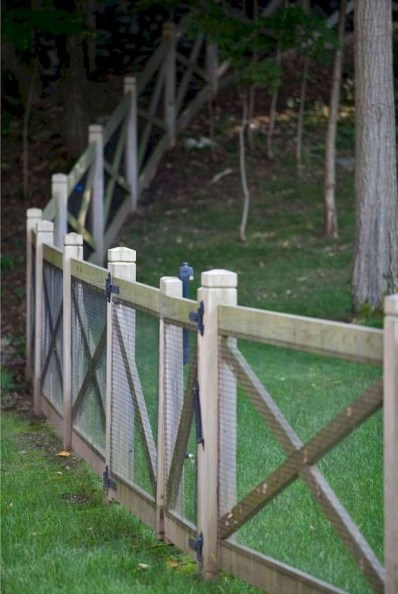 Awesome Farmhouse Garden Fence For Winter To Spring 09