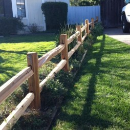 Awesome Farmhouse Garden Fence For Winter To Spring 42