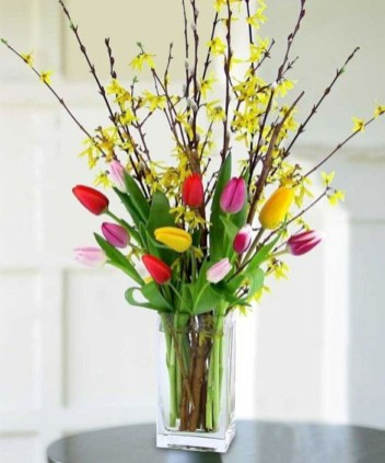 Best Spring Flower Arrangements Centerpieces Decoration Ideas 49