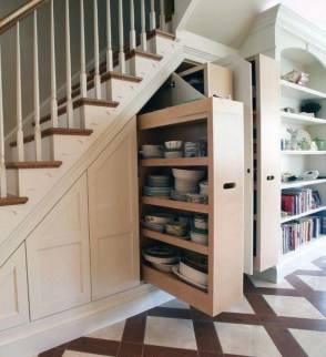 Brilliant Storage Ideas For Under Stairs To Try Asap 09