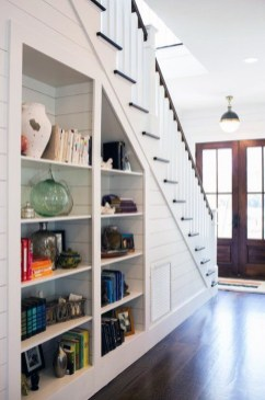 Brilliant Storage Ideas For Under Stairs To Try Asap 34