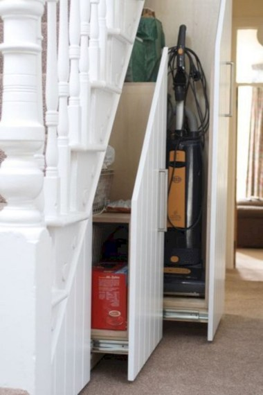 Brilliant Storage Ideas For Under Stairs To Try Asap 45