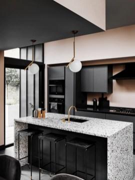 Delicate Black Kitchen Interior Design Ideas For Kitchen To Have Asap 09