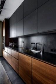 Delicate Black Kitchen Interior Design Ideas For Kitchen To Have Asap 12