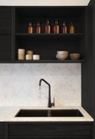 Delicate Black Kitchen Interior Design Ideas For Kitchen To Have Asap 14