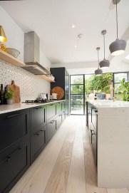 Delicate Black Kitchen Interior Design Ideas For Kitchen To Have Asap 19