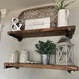 Easy And Simple Shelves Decoration Ideas For Living Room Storage 10