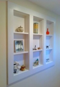 Easy And Simple Shelves Decoration Ideas For Living Room Storage 40