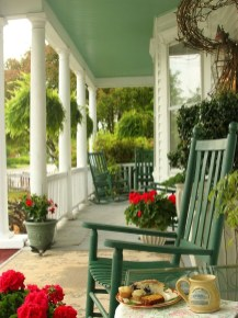 Elegant Chair Decoration Ideas For Spring Porch 01