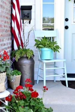 Elegant Chair Decoration Ideas For Spring Porch 09