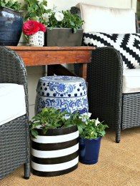 Elegant Chair Decoration Ideas For Spring Porch 13