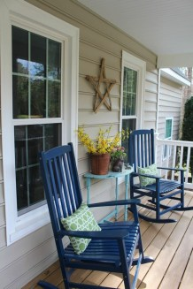 Elegant Chair Decoration Ideas For Spring Porch 15