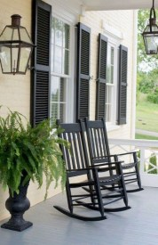 Elegant Chair Decoration Ideas For Spring Porch 41