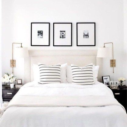 Fabulous White Bedroom Design In The Small Apartment 47
