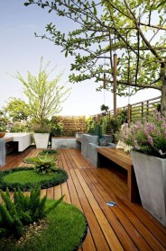 Fantastic Wood Terrace Design Ideas That You Can Try In This Spring 05