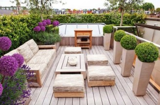 Fantastic Wood Terrace Design Ideas That You Can Try In This Spring 11