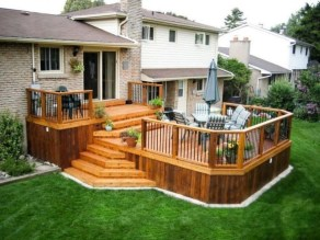 Fantastic Wood Terrace Design Ideas That You Can Try In This Spring 25