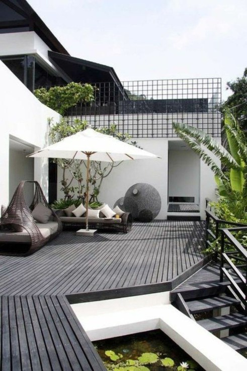 Fantastic Wood Terrace Design Ideas That You Can Try In This Spring 28