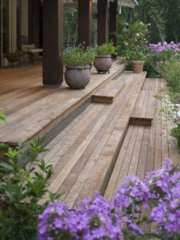 Fantastic Wood Terrace Design Ideas That You Can Try In This Spring 39