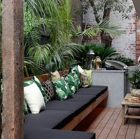 Fascinating Small Balcony Ideas With Relax Seating Area 11