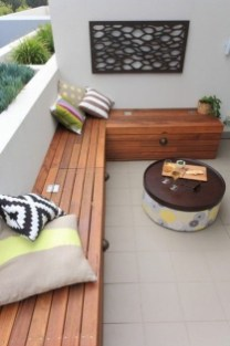Fascinating Small Balcony Ideas With Relax Seating Area 15